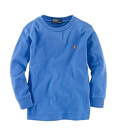 Ralph Lauren Childrenswear 2T-7 Long-Sleeve Jersey Tee