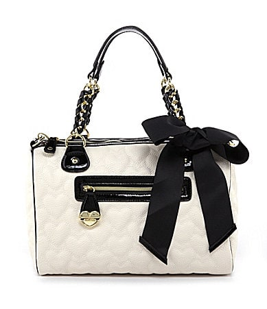 Betsey Johnson Be My One and Only Now Satchel