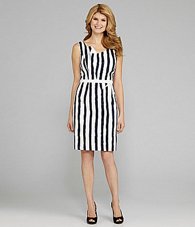 Antonio Melani Jorja Brushstroke-Stripe Dress