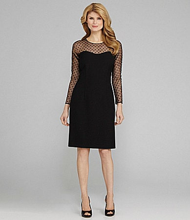 Antonio Melani Dalia Polka-Dot Dress
