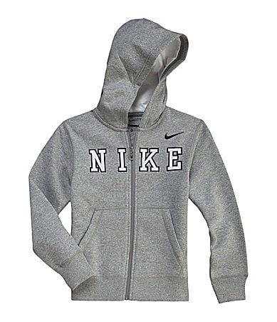 Nike 8-20 YA76 Hooded Fleece Zip-Up Jacket