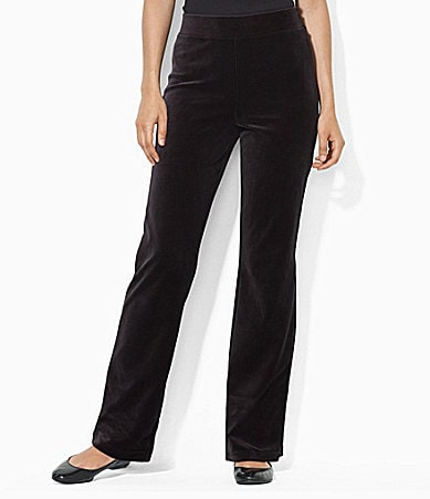 Lauren Ralph Lauren Velour Pants
