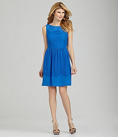 Antonio Melani Karolyn LaceOverlay Dress