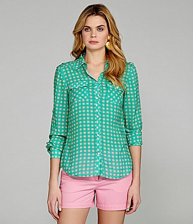 Cremieux Ron Gingham Shirt