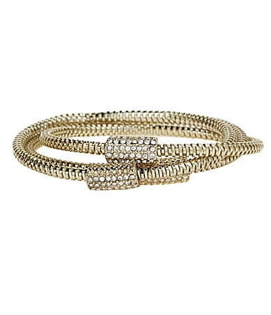 Jessica Simpson Boxed Bangle Bracelet Set