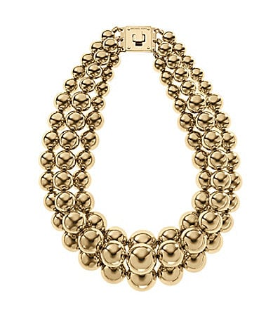 Michael Kors Modern Classic Drama Statement Necklace