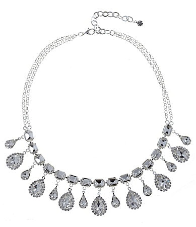 Cezanne Crystal Rhinestone Statement Necklace