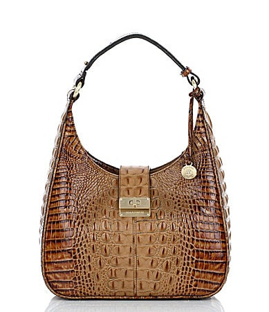 Brahmin Toasted Almond Collection Quinn Small Hobo