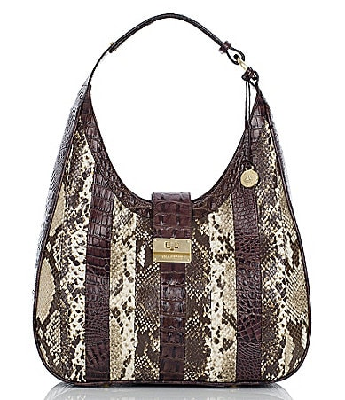 Brahmin Anaconda Patchwork Collection Maggie Hobo