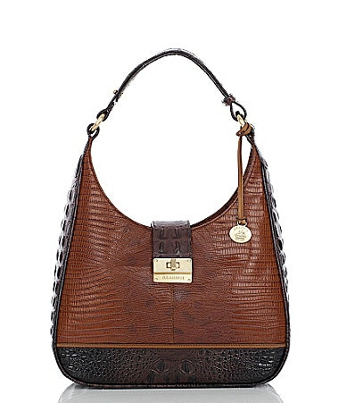 Brahmin Tri-Texture Collection Quinn Small Hobo