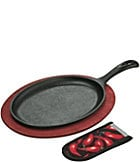Lodge Cast Iron Pro Logic Fajita Grill Set