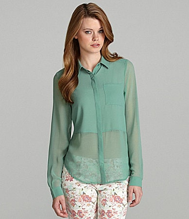 GB Split-Tail Blouse