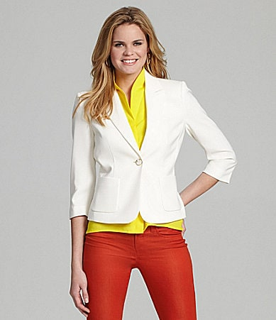 Cremieiux Blanca Single-Button Jacket