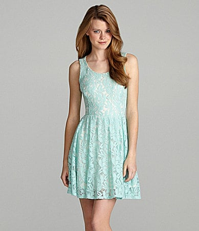 GB Lace Cutout Dress