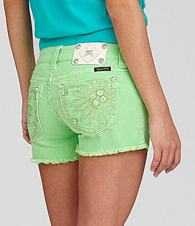 Miss Me Floral-Pocket Shorts