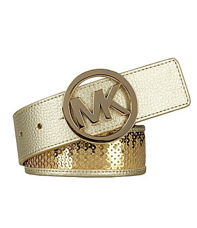 Michael Kors Sequin Inlay Belt