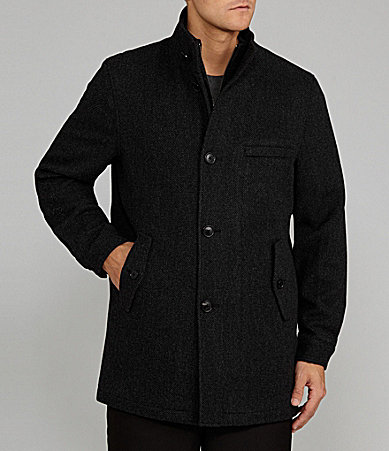 Cremieux Brian 3/4 Twill Wool Jacket