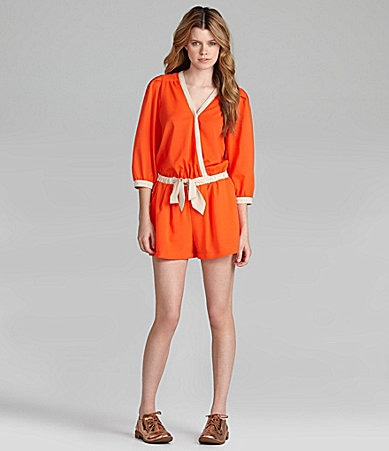 GB 3/4-Sleeve Romper