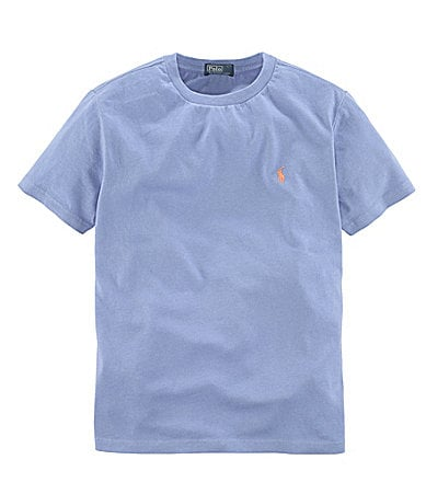 Ralph Lauren Childrenswear Boys 8-20 Jersey Crewneck Tee