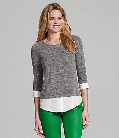 Cremieux Bella Layered Top