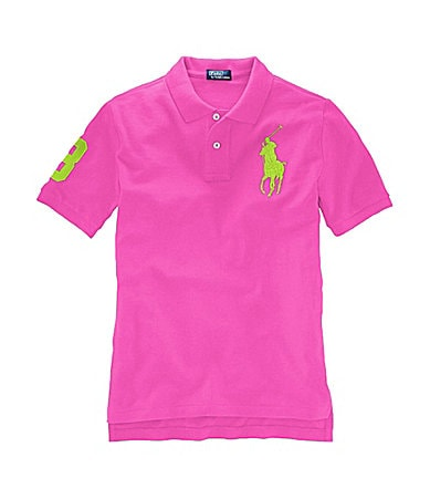 Ralph Lauren Childrenswear Boys 8-20 Mesh Polo Shirt