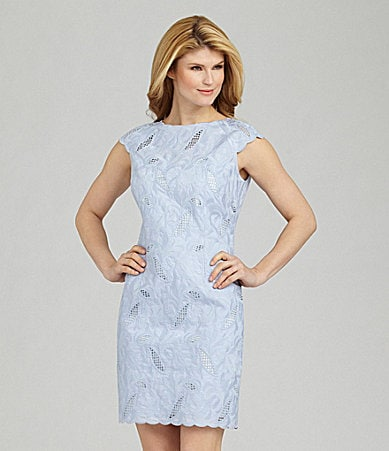 Antonio Melani Livinnia Embroidered Dress