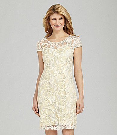 Antonio Melani Josselyn Embroidered Dress