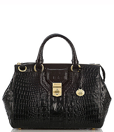 Brahmin Melbourne Collection Courtney Satchel Bag