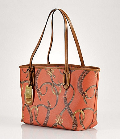 Lauren Ralph Lauren Caldwell Belting Shopper Bag