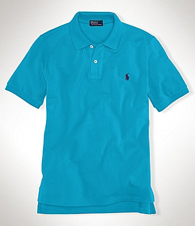 Ralph Lauren Childrenswear 8-20 Mesh Polo