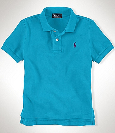 Ralph Lauren Childrenswear 2T-7 Mesh Polo Shirt