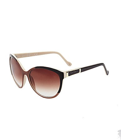 Jessica Simpson Oval Frame Sunglasses