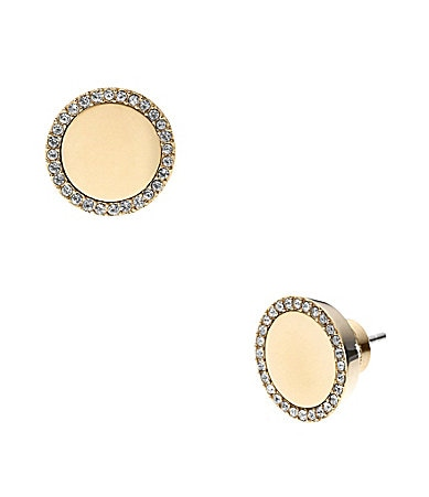 Michael Kors Slice Stud Earrings