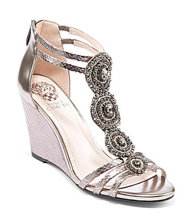 Vince Camuto Zimily Bejeweled Wedges