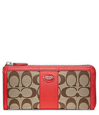 COACH LEGACY SIGNATURE SLIM ZIP