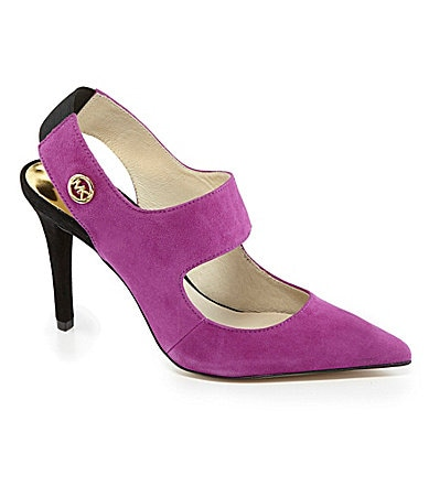 MICHAEL Michael Kors Sivian Pointed-Toe Pumps