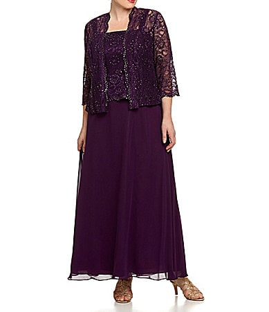 Ignite Evenings Woman Beaded Lace Jacket Dress