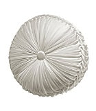 "J. Queen New York Chantilly 15"" Tufted Round Pillow"