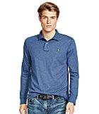 Polo Ralph Lauren Long-Sleeved Pima Soft-Touch Polo Shirt