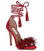 Steve Madden Sassey Fringe Sandals