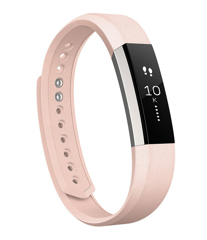 Fitbit Alta Accessory Bands Premium Leather Band   Dillards