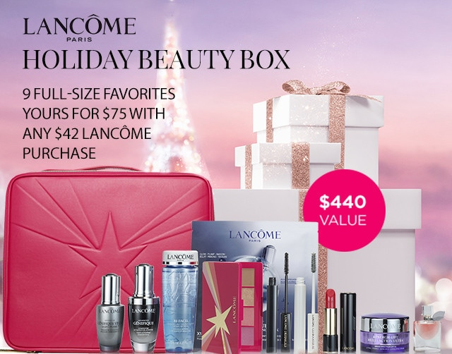Shop Lancome - 9 FULL-SIZE FAVORITES YOURS FOR $75 WITH ANY $42 LANCOME PURCHASE