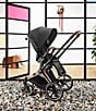 Color:Rose Gold Frame/Premium Black Seat - Image 7 - Rose Gold Priam 3 Compact Stroller
