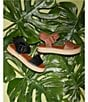 Color:Vacay Tan - Image 6 - Kaygan Leather Espadrille Flatform Sandals