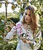 Color:Cream Blossom - Image 4 - Joules Clemence Printed Crew Neck Sweatshirt
