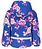 Color:Bluebird Day - Image 2 - Little/Big Girls 1-8 Iris Bluebird Day Print Ski Jacket