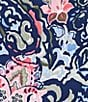 Color:Kingdom Blue - Image 4 - Tommy Bahama Paisley Promenade Short Dress