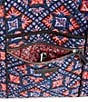 Color:Tile Medallions - Image 2 - Vera Bradley Iconic Printed Vera Tote