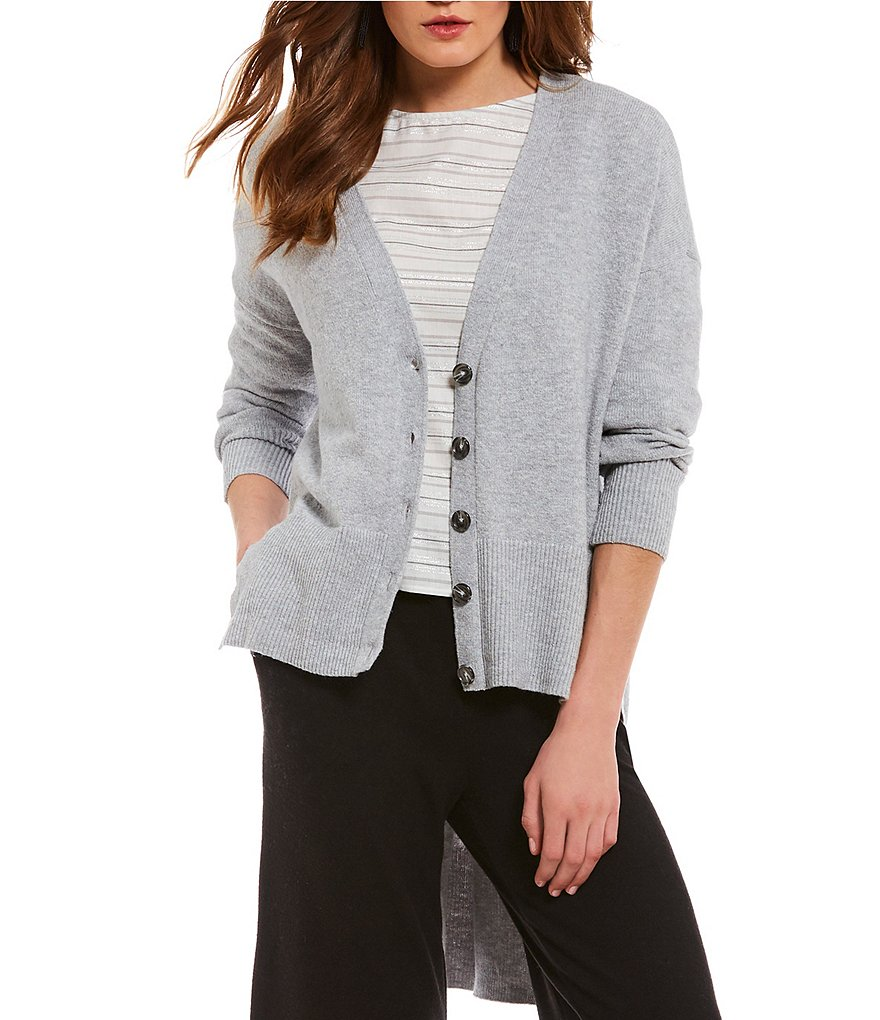 1. STATE High Low Cardigan
