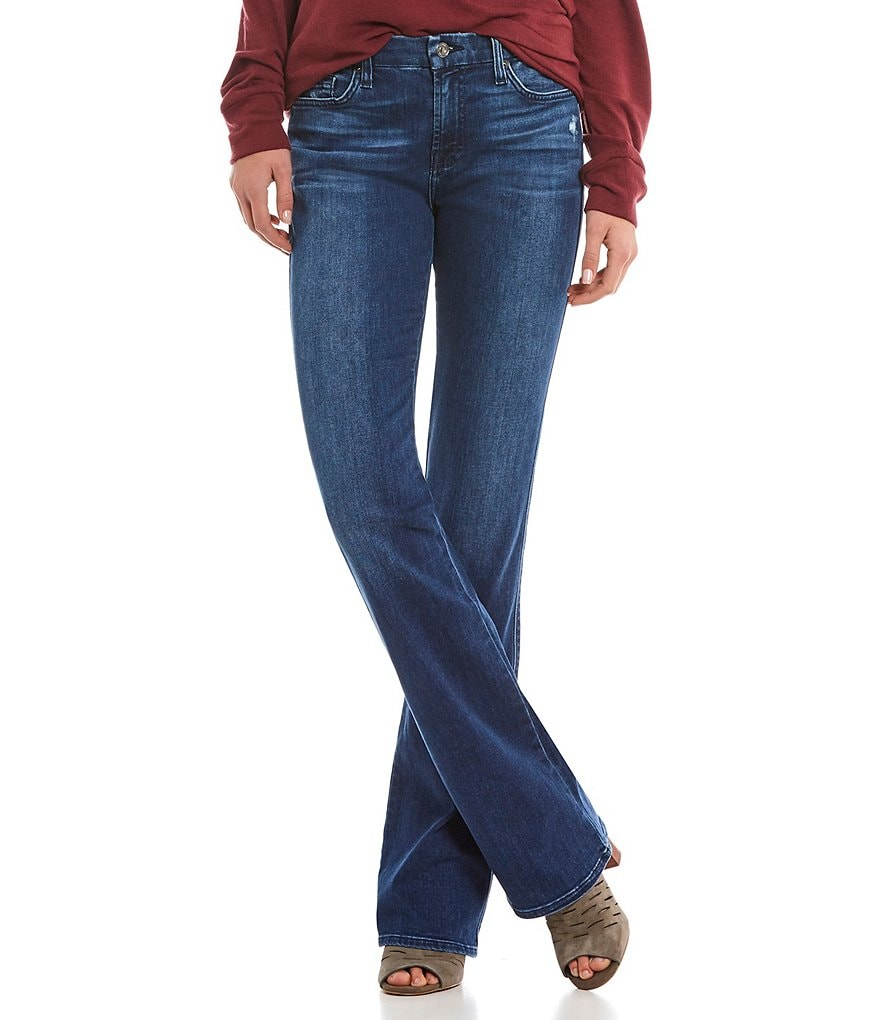7 for all mankind Kimmie Destruction Bootcut Jeans